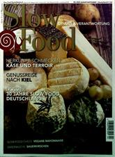 Slow Food Magazin Abo