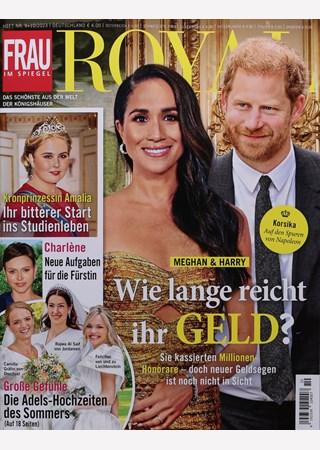 Frau im spiegel royal abo frau im spiegel royal probe abo for Aktuelle spiegel ausgabe